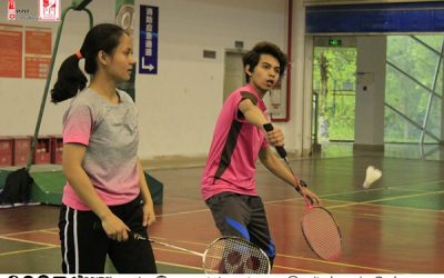 Keseruan Badminton International Cup 2019
