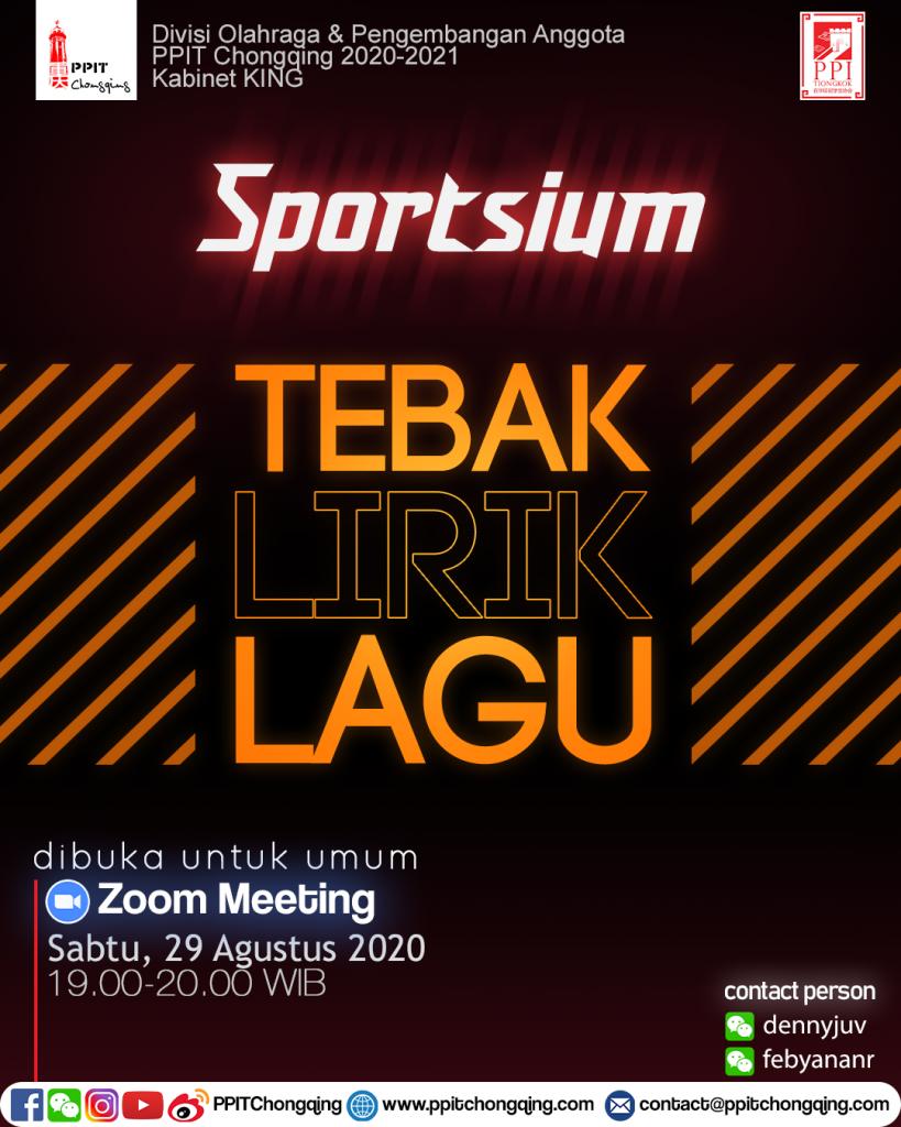 Sportsium Agustus 2020