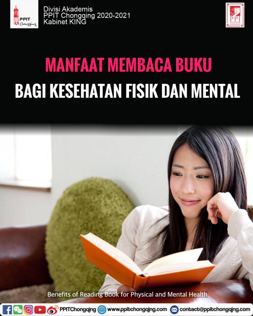 Manfaat Membaca Buku bagi Kesehatan dan Mental