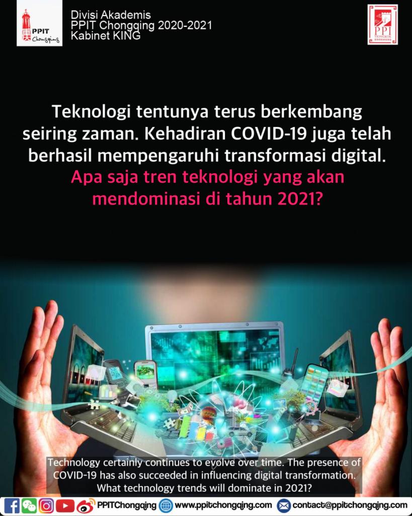 Trend Teknologi 2021